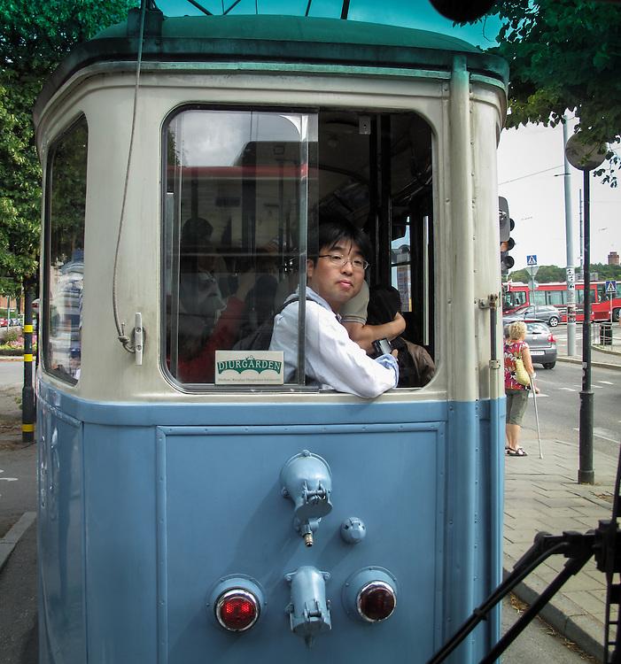 Spårvagn till Djurgården