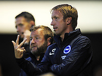Football - 2019 -2020 Crawley Town v Brighton and Hove Albion<br /> <br /> Graham Potter - New Brighton Manager<br /> <br /> COLORSPORT/ANDREW COWIE