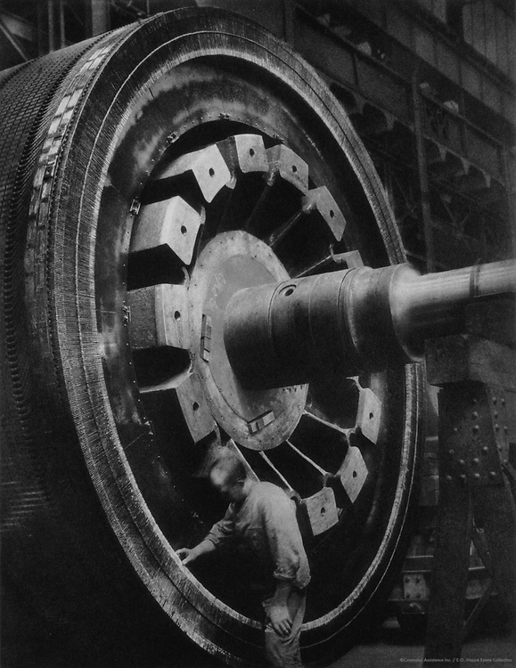 D.C. motor, Siemens-Schuckertwerke, Gartenfeld, Berlin-Spandau, 1928