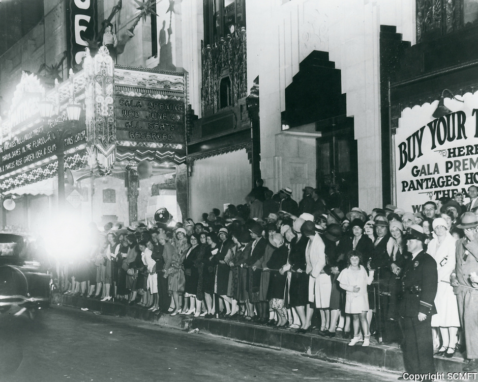 1930 Grand Opening of The Pantages Theater