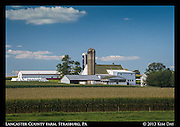 Lancaster County Farm<br /> Strasburg, PA<br /> August 2013