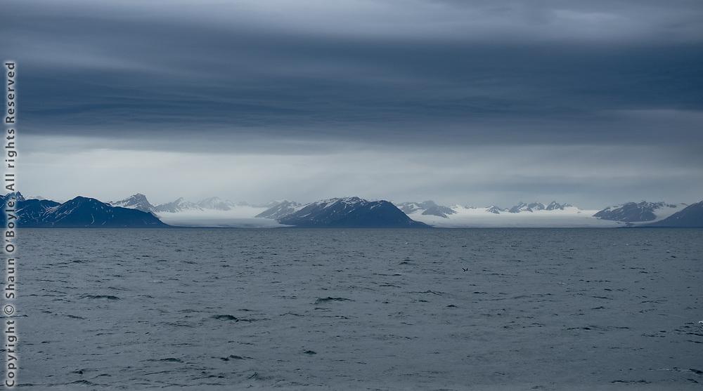 Esmarkbreen and Nansenbreen glaciers