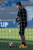 Gianluigi Buffon Juventus <br /> Roma 16-05-2017 Stadio Olimpico <br /> Allenamento Juventus Finale Coppa Italia <br /> Juventus Training <br /> Foto Andrea Staccioli / Insidefoto