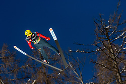 Dmitriy Vassiliev (RUS) during the Trial Round of the Ski Flying Hill Individual Competition at Day 1 of FIS Ski Jumping World Cup Final 2019, on March 21, 2019 in Planica, Slovenia. Photo by Matic Ritonja / Sportida