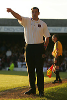 Fotball<br /> England 2004/2005<br /> Foto: SBI/Digitalsport<br /> NORWAY ONLY<br /> <br /> Southend United v Northampton Town<br /> <br /> The Coca-Cola League two play-off semi final 2nd leg. Roots Hall.<br /> 21/05/05<br /> <br /> Northampton's manager Colin Calderwood