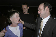 Vince Vaughn, Suzannah York and Kevin Spacey, The 25th hour post party at the Plaza on the River, 18 Albert Embankment. Culmination of the 24 Hour Plays Celebrity Gala at the Old Vic.London. 8 October 2006.  -DO NOT ARCHIVE-© Copyright Photograph by Dafydd Jones 66 Stockwell Park Rd. London SW9 0DA Tel 020 7733 0108 www.dafjones.com