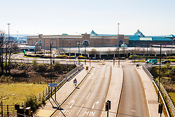 Meadowhall Shopping centers Car parks in Sheffield on the second day emergency measures which were announced by Prime minister Boris Johnson on Monday evening (24th march) <br /> <br /> 26 March 2020<br /> <br /> www.pauldaviddrabble.co.uk<br /> All Images Copyright Paul David Drabble - <br /> All rights Reserved - <br /> Moral Rights Asserted -