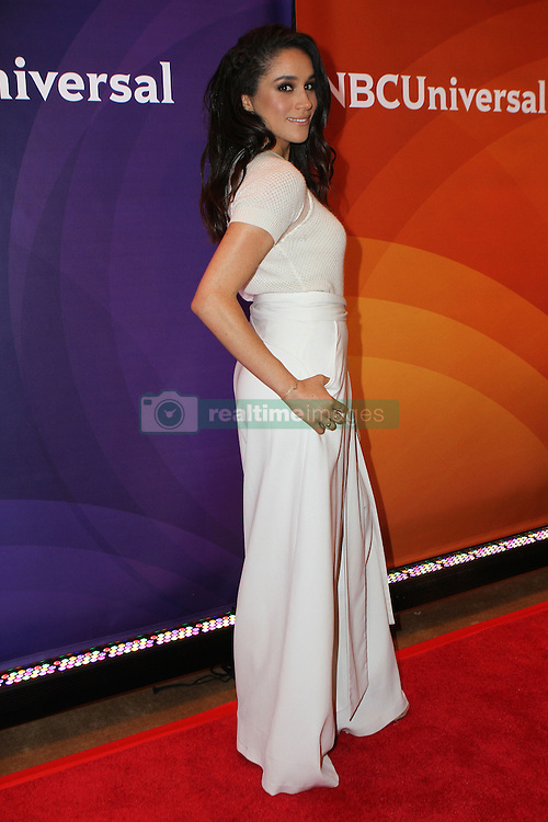 June 24, 2015 - New York City, NY, USA - Meghan Markle at the NBC's 2015 New York Summer Press Day at Four Seasons Hotel New York on June 24, 2015 in New York City  (Credit Image: © Nancy Rivera/Ace Pictures/ZUMA Wire)