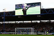 Tribute to John Jenkins ahead of the EFL Sky Bet League 1 match between Portsmouth and Ipswich Town at Fratton Park, Portsmouth, England on 21 December 2019.