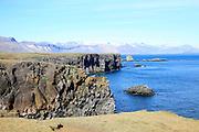 Iceland, snaefellsnes peninsula,Arnarstapi