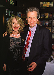 MR & MRS ROBERT LACEY he is the writer, at a party in London on 29th April 1998.MHH 29
