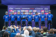 Men Road Race 230,4 km, team Italy, during the Cycling European Championships Glasgow 2018, in Glasgow City Centre and metropolitan areas, Great Britain, Day 11, on August 12, 2018 - Photo Luca Bettini / BettiniPhoto / ProSportsImages / DPPI - Belgium out, Spain out, Italy out, Netherlands out -