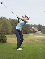 VALKENSWAARD - Golfprofessional ANNE VAN DAM . Driver, afstand maken. . .  COPYRIGHT KOEN SUYK