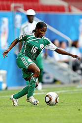17.07.2010,  Augsburg, GER, FIFA U20 Womens Worldcup, Nigeria vs Japan,  im Bild Amarachi OKORONKWO (Nigeria Nr.16) , EXPA Pictures © 2010, PhotoCredit: EXPA/ nph/ . Straubmeier+++++ ATTENTION - OUT OF GER +++++ / SPORTIDA PHOTO AGENCY