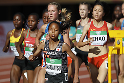 July 10, 2018 - Tampere, Suomi Finland - 180710 Friidrott, Junior-VM, Dag 1: Tomomi Musembi Takamatsu, JPN competes in 5000m during the IAAF World U20 Championships day 1 at the Ratina stadion 10. July 2018 in Tampere, Finland. (Newspix24/Kalle Parkkinen) (Credit Image: © Kalle Parkkinen/Bildbyran via ZUMA Press)