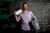Shion Deysarkar, founder of custom data search company Datafiniti, who says he is moving his company to Austin because he could not find enough talented programmers in Houston