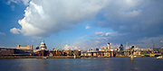 Londyn, 2009-03-05. Panorama miasta