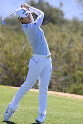 March 22, 2019 - Phoenix, AZ, U.S. - PHOENIX, AZ - MARCH 22: Sung Hyun Park tees off on the seventeenth hole during the second round of the Bank of Hope LPGA Golf Tournament at the Wildfire Golf Club at JW Marriott Phoenix Desert Ridge Resort & Spa, March 22, 2019 in Phoenix, Arizona (Photo by Will Powers/Icon Sportswire) (Credit Image: © Will Powers/Icon SMI via ZUMA Press)
