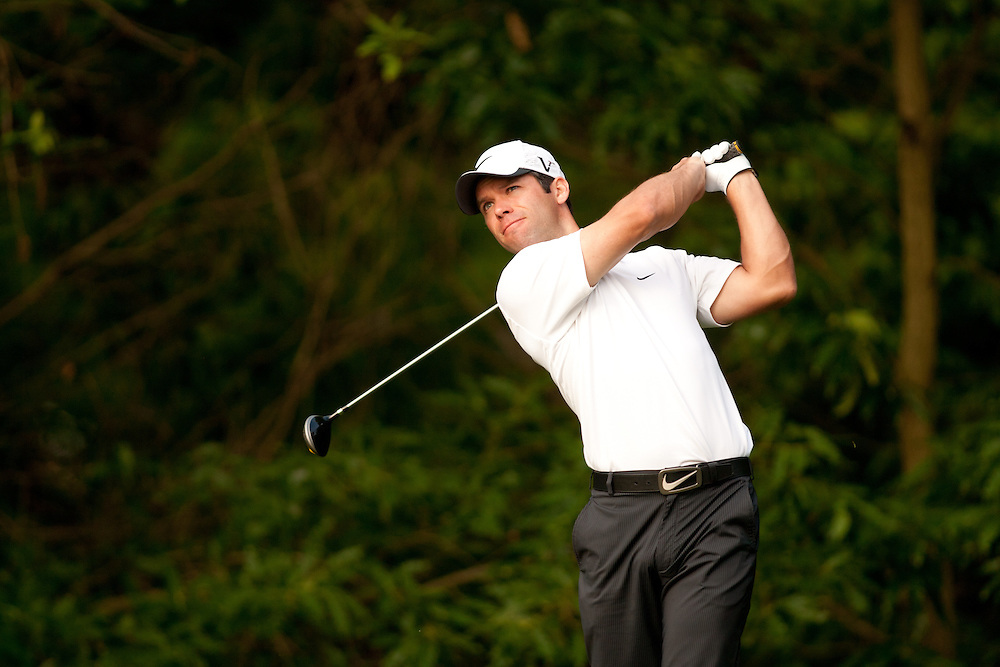 CHARLOTTE, NC - May 6: Paul Casey during the second round of the 2011 Wells Fargo Championship at Quail Hollow Club in Charlotte, North Carolina on May 6, 2011. Photograph © 2011 Darren Carroll
