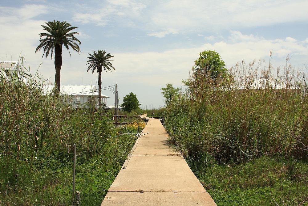 Pilottown, LA, post-Katrina