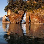 Three Hole Point in Aialik Bay, Kenai Fjords national park, Alaska