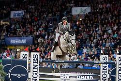 PHILIPPAERTS Olivier (BEL), H&M Legend of Love<br /> Stuttgart - German Masters 2018<br /> Grosser Preis von Stuttgart<br /> Longines FEI Jumping World Cup 2018/2019<br /> 17. November 2018<br /> © www.sportfotos-lafrentz.de/Stefan Lafrentz