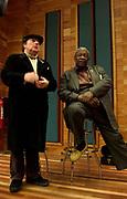 BB King at Olympic Studios London -  with Van Morrison 2005