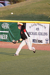 14 August 2015: Scott Kalamar during a Frontier League Baseball game between the Washington Wild Things and the Normal CornBelters at Corn Crib Stadium on the campus of Heartland Community College in Normal Illinois