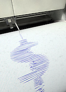 Seismic Readout in Shape of USA Dollar Sign