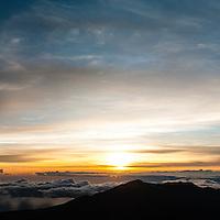 Sunrise at Haleakalā National Park, Maui, Hawaii