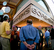 Omaha, Neb 5/5/06 Thousands of people take advantage of the shareholder pricing at Borsheims Jewelry store are part of the Berkshire Hathaway shareholders annual meeting in Omaha Nebraska..(Chris Machian/Prairie Pixel Group)