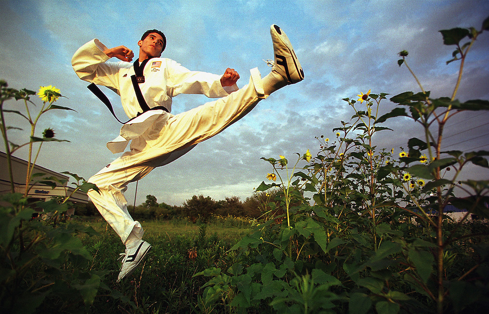 U.S. Olympic taekwondo gold medalist Steven Lopez