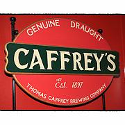 Caffreys Sign O'Briens Pub - London UK - Artist Designed Custom Border