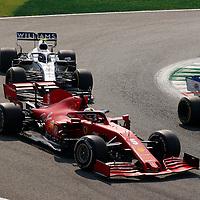 06.09.2020, Autodromo Nazionale di Monza, Monza, FORMULA 1 GRAN PREMIO HEINEKEN D'ITALIA 2020<br />,im Bild<br />Sebastian Vettel (GER#5), Scuderia Ferrari, Nicholas Latifi (CAN#6), Rokit Williams Racing<br /> <br /> Foto © nordphoto / Bratic
