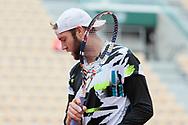 Jack Sock (USA) during the Roland Garros 2020, Grand Slam tennis tournament, on September 30, 2020 at Roland Garros stadium in Paris, France - Photo Stephane Allaman / ProSportsImages / DPPI