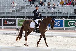 Pepo Puch, (AUT), Fine Feeling S - Freestyle Grade Ib Para Dressage - Alltech FEI World Equestrian Games™ 2014 - Normandy, France.<br /> © Hippo Foto Team - Leanjo de Koster<br /> 25/06/14