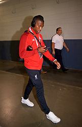 NEW JERSEY, USA - Wednesday, July 25, 2018: Liverpool's Daniel Sturridge arrives before a preseason International Champions Cup match between Manchester City FC and Liverpool FC at the Met Life Stadium. (Pic by David Rawcliffe/Propaganda)