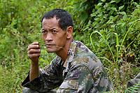 Mr Tao is an incredible Wuliang guide, Wuliangshan Nature Reserve, Mount Wuliang Nature Reserve in Jingdong county, Yunnan, China