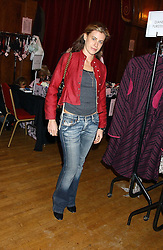 FRANCESCA VERSACE at Billion Dollar Babes - a sale of designer fashion held at The Porchester Hall, 45 Porchester Road, London W2 on 4th November 2005.<br /><br />NON EXCLUSIVE - WORLD RIGHTS