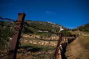 The path to the monastery at Komiza, Vis, Croatia..