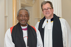 Bishop Michael B. Curry & Dean Andrew McGowan. A Service of Evensong Together with the Conferral of Honorary Degrees. 20 October 2015. Berkeley Divinity School at Yale University.