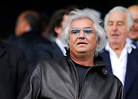 Photo: Leigh Quinnell.<br /> Queens Park Rangers v Southampton. Coca Cola Championship. 01/09/2007. New owner of QPR Flavio Briatore watches the game.