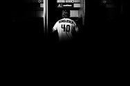 PHOENIX, ARIZONA - DECEMBER 17: Madison Bumgarner official signing day. (Photo by: Sarah SachsArizona Diamondbacks)