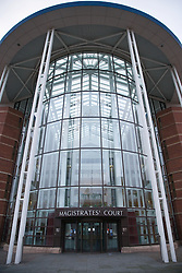 Entrance to the Nottingham Magistrate's Court building,