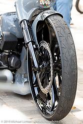 Brazilian Rodrigo Della Casas' custom 2015 Harley-Davidson Road King with Metalsport Wheels at the Perewitz Paint Show at the Broken Spoke Saloon during Daytona Beach Bike Week, FL. USA. Wednesday, March 13, 2019. Photography ©2019 Michael Lichter.