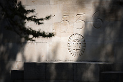 22 September 2017, Geneva, Switzerland: By the Reformation Wall, in central Geneva.