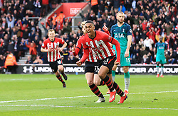 Southampton's Yan Valery celebrates scoring his side's first goal of the game