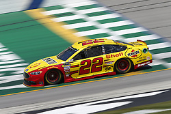July 13, 2018 - Sparta, Kentucky, United States of America - Joey Logano (22) brings his race car down the front stretch during practice for the Quaker State 400 at Kentucky Speedway in Sparta, Kentucky. (Credit Image: © Chris Owens Asp Inc/ASP via ZUMA Wire)