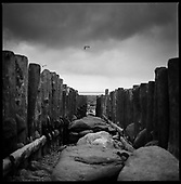 Sea Groins, Lynmouth, North Devon 2011