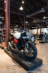 MOTUS Motorcycles custom Motus V4 built for the Handbuilt Motorcycle Show. Austin, TX. April 12, 2015.  Photography ©2015 Michael Lichter.